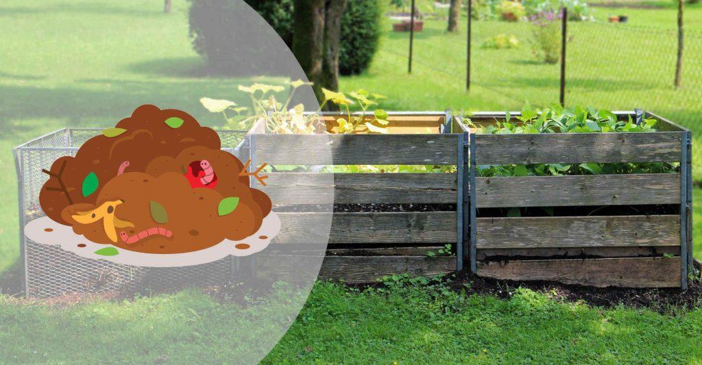 Illustration du bac à compost